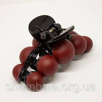 """Шпилька Xuping Jewelry """"Bubble"""" бордова (76492)"""