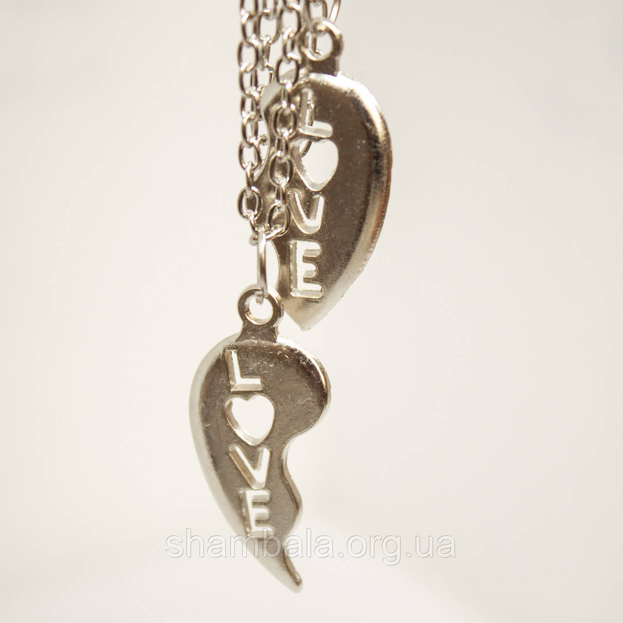 "Парный кулон Xuping Jewelry ""Сердце"" (76829)"
