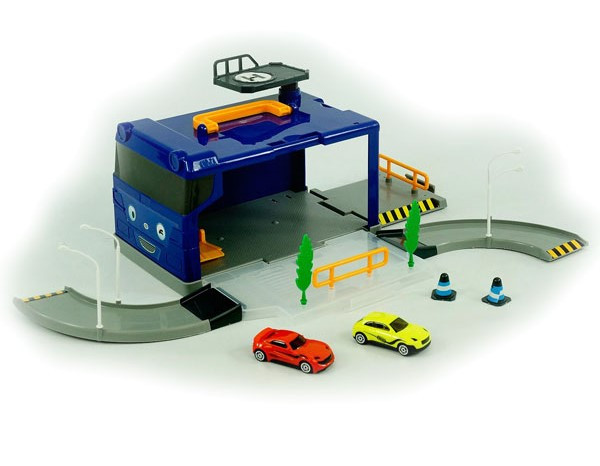 Детская парковка Автотрек детский Детский трек Треки с машинками Игрушечный трек Трек игрушка