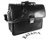 Портфель кожаный классический katana 34205