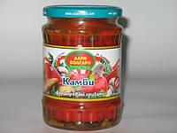 Камба (Ратунда) маринованная красная фаршированная грибами