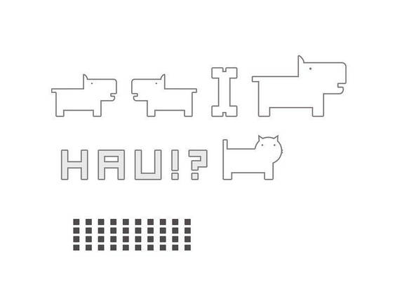 Наклейки Hau D21-HAU-BK, фото 2