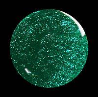 Гель-лак для  ногтей № 195 SALON PROFESSIONAL  (CША)  сине-зеленый с плотным блеском