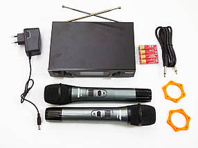 Радіосистема Shure SH-600G2 база 2 радіомікрофона