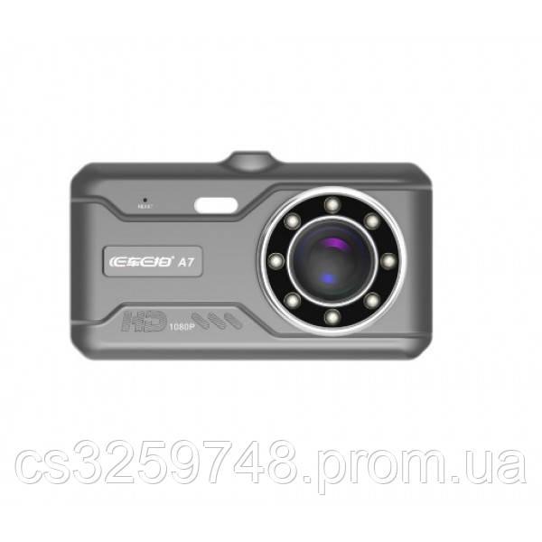Автомобильный Видеорегистратор DVR A7 HD 2 камеры