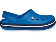 Летние кроксы Crocs Crocband синие