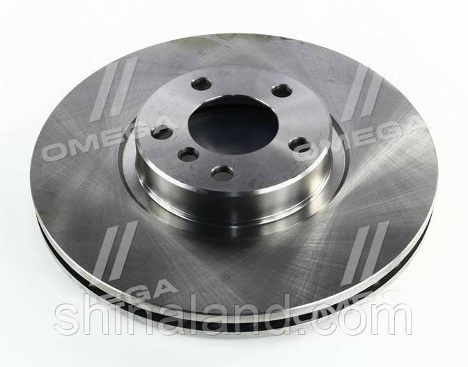 Гальмівний диск BMW X5, X6 передній вентильований (REMSA) OE 34116793244