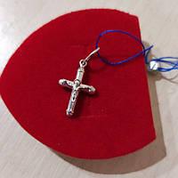 Крест серебный 925 пробы