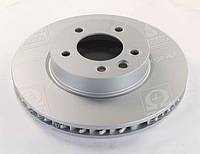Гальмівний диск PORSCHE/VW CAYENNE/TOUAREG передній лівий вентильований (ABS) OE 7L6615301D