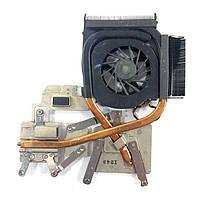 Система охлаждения HP Palilion dv6-1000, dv6-2000 532614-001 (AMD, Dis) БУ, фото 1