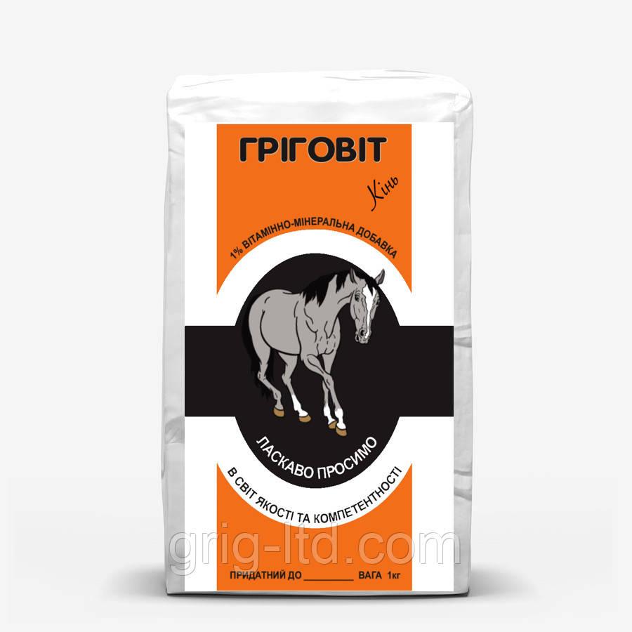Премікс 1 % (ПКО) для племінних жеребців і коней