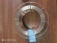 Проволока сварочная омеднённая 2 мм (уп. 15 кг, марка  Св-08Г2С), фото 1