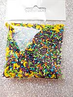 """Посыпка для торта и кексов """"Микс луна-звёзды"""" 50 гр."""