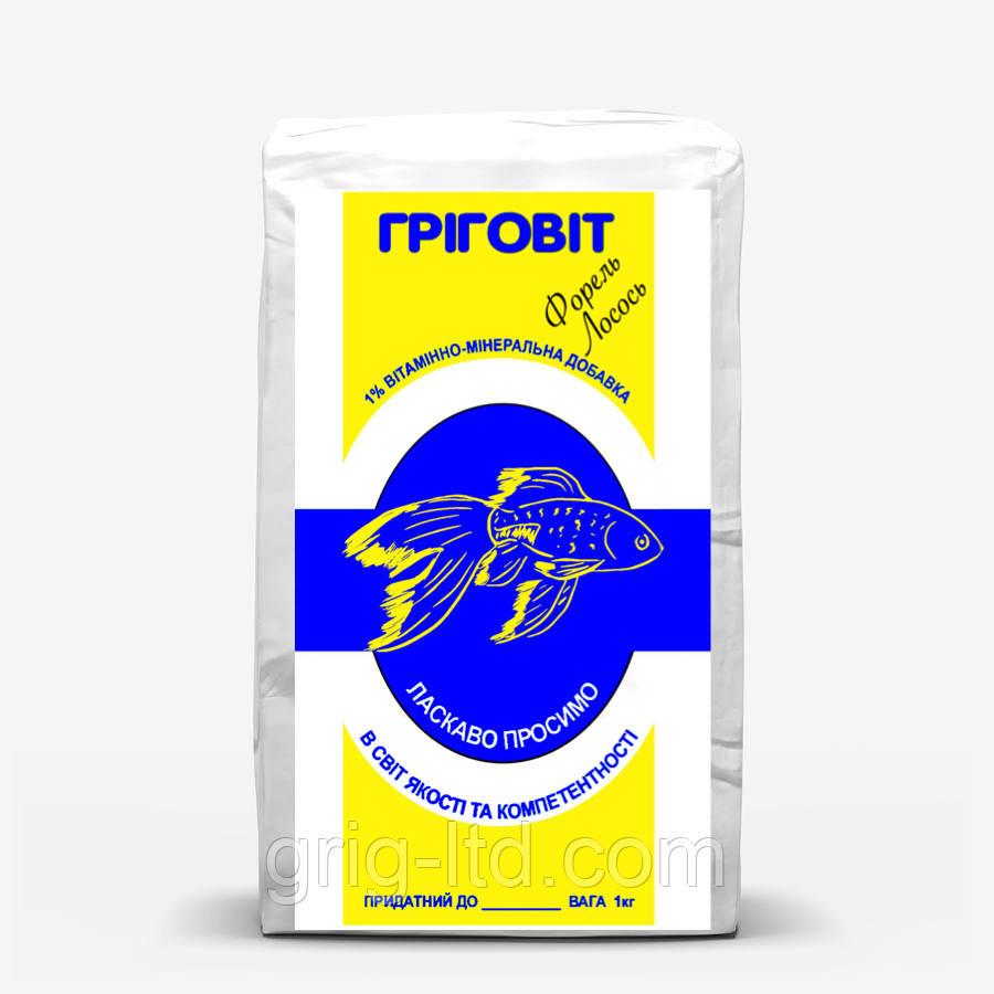 Премикс для рыбы (форель, лосось) (ПР Ф-Л) - 1 %