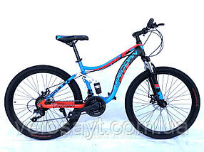 Горный велосипед «Шарк» 26 дюймов. Двухподвесный 2020 год Размер рамы 18