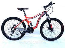 Горный велосипед «Шарк» 26 дюймов. Двухподвесный 2020 год Размер рамы 18, фото 2