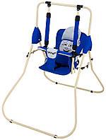 Качель Babyroom Casper синий - светло-серый