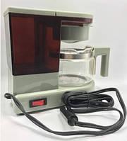 Кофе машинка, в автомобиль питание 12V портативная кофеварка на подарок (СР-404)
