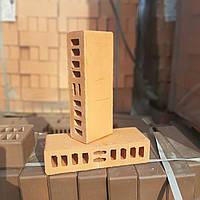 Кирпич керамический половинка утолщённый