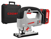 Аккумуляторный лобзик Crown CT25003HX-4 BMC
