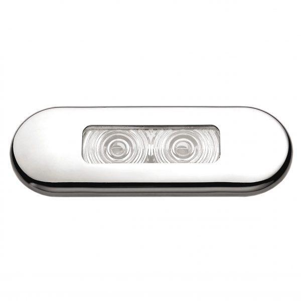 Светильник палубный ААА 00159-SSWH 0,4Вт 85,8х30,8 мм