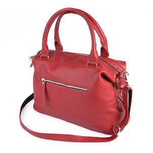 Жіноча сумка з натуральної шкіри М240 red, фото 2