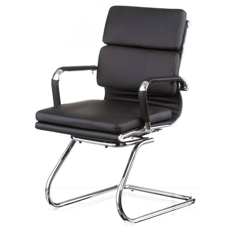 Крісло офісне Special4You Solano 3 office artleather black (E5920)