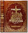 Евангелие иллюстрированное в кожаном переплете и подарочном футляре, фото 3