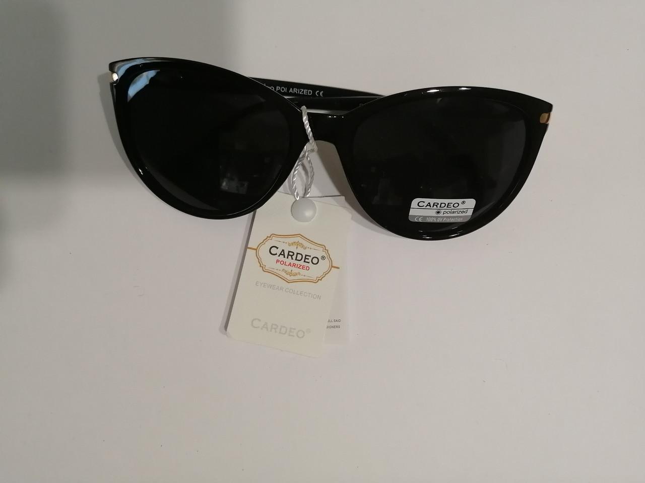 Женские солнцезащитные очки, с полароидной линзой, черные