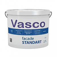Vasco Facade Standart акриловая фасадная краска 2.7л, 9л