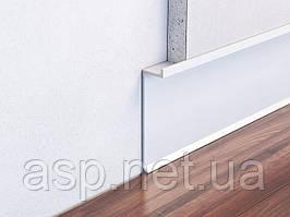 Авторський алюмінієвий плінтус прихованого монтажу (прихований плінтус) заввишки 60 мм
