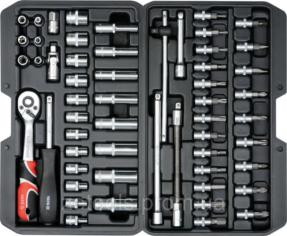 Набор инструмента 56 ед. YATO YT-14501