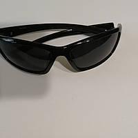 Мужские, солнцезащитные очки с полароидной линзой, спорт чёрный, фото 1