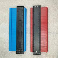 Шаблометр контурний пластик 250 мм alloet №1110