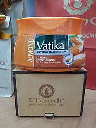 Крем-Маска для Волос интенсивное увлажнение Vatika с Миндалем 140 мл