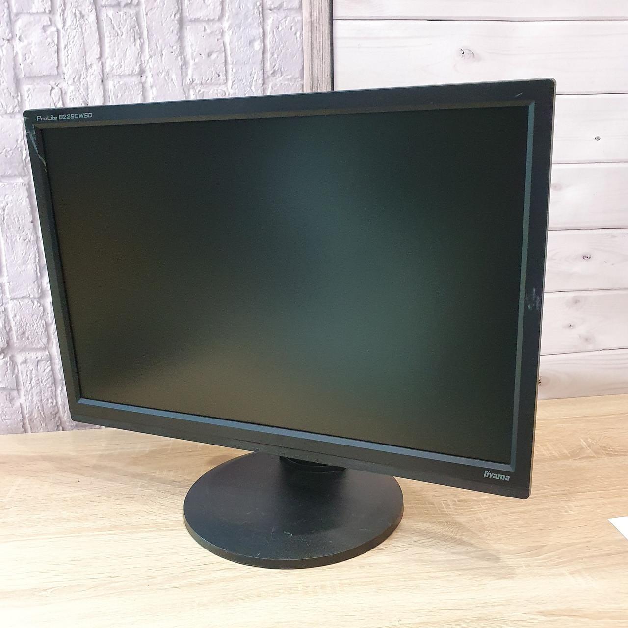 Монитор IIYAMA 22  (Матрица TN / DVI, VGA,DisplayPort / Разрешение 1680x1050)