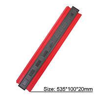 Шаблометр контурний пластик 500 мм alloet №1111