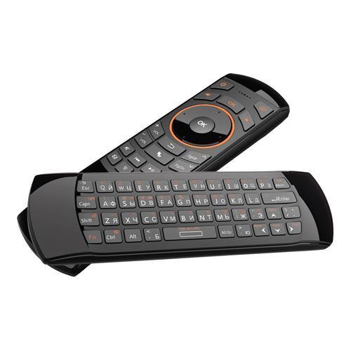 Клаіатура Rii Mini i25 з гіроскопом, 2.4Ghz, Укр/Рос букви, Air Mouse QWERTY Keyboard