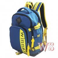 Рюкзаки для мальчиков Winner Stile 28*13*40 (синий, чёрный с синим)