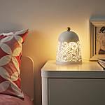 IKEA SOLSKUR Светодиодная настольная лампа, белый, латунный цвет (104.245.17), фото 2
