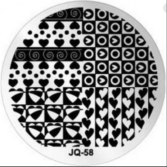 Диск для стемпинга jq 58