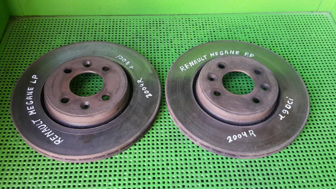 Тормозной диск для Renault Megane II Scenic