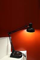 Настольная лампа стиль loft Е27 черная Right Hausen