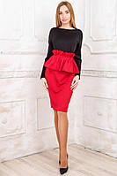 Женское стильное платье с поясом болеро, фото 1