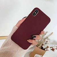 Чехол-накладка Silicone Case Full for Xiaomi Mi 9 SE (Bordo)