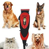 Профессиональная машинка Gemei GM-1023 для стрижки кошек и собак, вычесывания