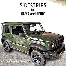 Молдинги на двери для Suzuki Jimny IV 2018+