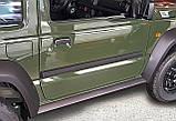 Молдинги на двери для Suzuki Jimny 2018+, фото 2
