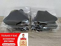 Маска защитная многоразовая двухслойная черная (10 шт)