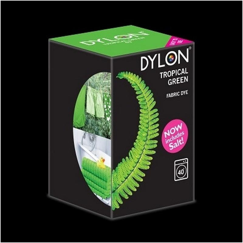 Краска для окрашивания ткани в стиральной машине DYLON Machine Use Tropical Green